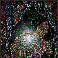 Точечная роспись по стеклу (мое хобби) :: Юлия Шуралева