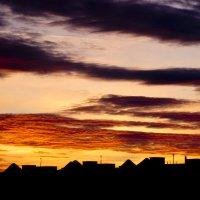 Закатные крыши домов :: Дамир Каримов