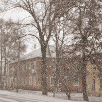 ...тихо падал снег... :: Ольга Нарышкова