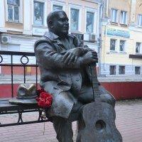 Тверь. Памятник Михаилу Кругу... :: Владимир Павлов