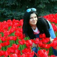 вся в цветах))) :: Любовь Антонова