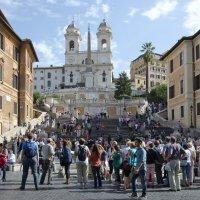 Испанская лестница в Риме :: Сергей Лошкарёв