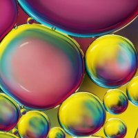 Фиолетовые пузырьки :: Валерия Металличенко(DEAF)