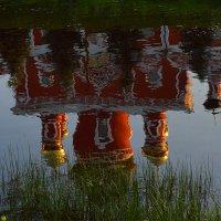 Отражение Воскресенского собора в Порусье. :: Sergey Serebrykov
