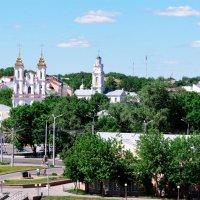 Вид на Воскресенский собор. Витебск. :: Анатолий Клепешнёв