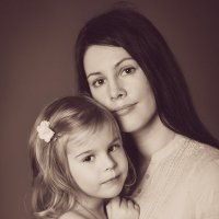 Мама и дочь) :: Екатерина Дашаева