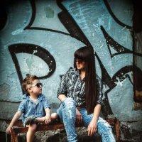 Я и сынуля :: Настёна Рычкова