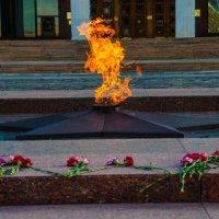 Вечный огонь на Поклонке :: Константин Сафронов