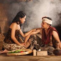 На традиционной балийской кухне :: Александр Ихиритов