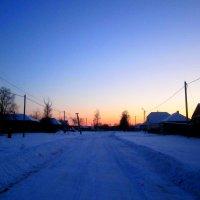 Зимняя улица :: Катя Бокова