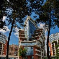 новейшая архитектура Геленджика пока за забором :: Валерий Дворников
