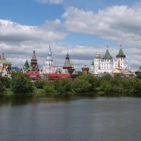 Измайловский Кремль. :: Эльмира Суворова