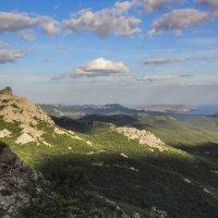 Судак, гора Кошка и мыс Меганом. :: Serg Borisoff
