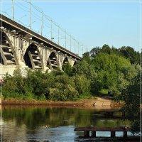 Мост через Клязьму во Владимире (2) :: Валерий Викторович РОГАНОВ-АРЫССКИЙ