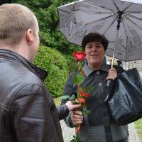цветы  от выпускника :: Ольга Ершова