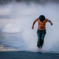 через водяную пыль :: Vasiliy V. Rechevskiy