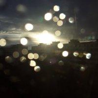 капельки дождя на стекле :: Нина Прокофьева