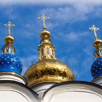 Купола Тобольского кремля :: Степан Бабкин