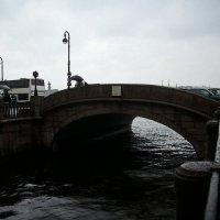Эрмитажный мостик под дождём. :: Ирина Прохорченко