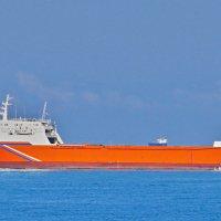 обнаружил новое судно в нашем порту :: Валерий Дворников