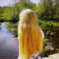 Смотрю на пруд :: Кристина Полянских