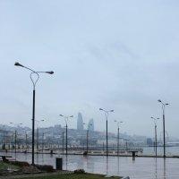 Зимнее утро в Баку :: Elena Sweet