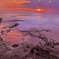 Закат на пляже дримлэнд :: Александр Ихиритов