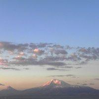 Арарат перед восходом :: Леонид Хачатрян