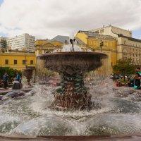 Москва, фонтан, июнь :: Garri K