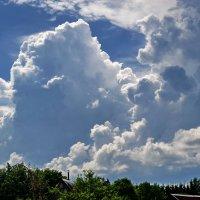 Могучие облака :: Светлана