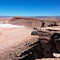 дивительная Лунная долина в пустыне Атакама, камень койота :: Tatiana Belyatskaya