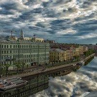 Фонтанка (вид сверху) :: Владимир Горубин