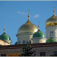 Вечерние купола :: Юрий Муханов