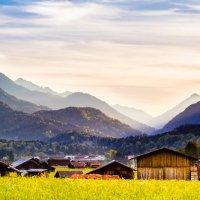 Закат в Баварии :: Алевтина Ольховских