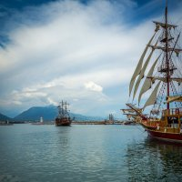 На пиратских берегах 3 :: Александр Хорошилов