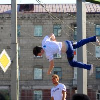 Ходьба по вертикали :: Антон Бояркеев
