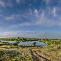 Панорама летнего утра :: Валерий Наумов