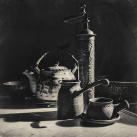 Кофейно-чайный натюрморт :: Evgeny Kornienko