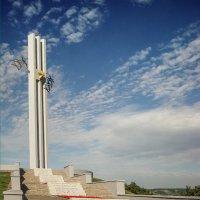 САРАТОВ_город на Волге_монумент ЖУРАВЛИ :: Андрей ЕВСЕЕВ