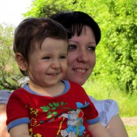 Мне так хорошо с мамочкой :: Marina Timoveewa