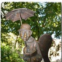 Петербургский ангел в Измайловском саду. :: bujhm54 Алькин
