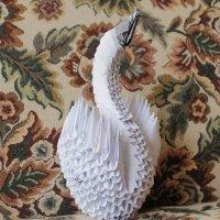 лебедь оригами :: Ирина Рыкина