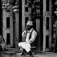 Улицами Катманду..(Непал). :: Александр Вивчарик