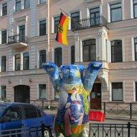 Медведь Бадди, посланец Германии :: Елена Гуляева (mashagulena)