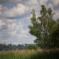 При-Волжский пейзаж :: Олег Субботин