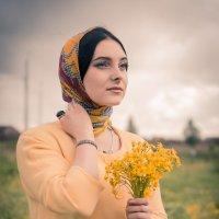 Девушка в поле :: Никита Пищов
