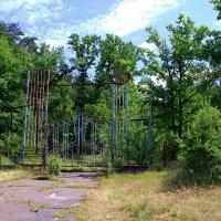 Ворота в заброшенный лагерь.. :: Юрий Стародубцев