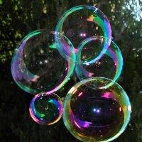 Блестящие пузыри :: Aнна Зарубина