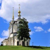 Церковь в селе Комлево :: Андрей Куприянов