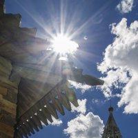 Шатровая колокольня 18 век. г.Юрьев Польский :: Василий Либко